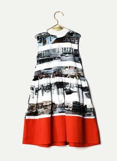 Wolf and Rita Sofia Dress in On The Road Print