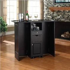 => Click picture to online Crosley Mobile Folding Bar shopping at Amazon.ca