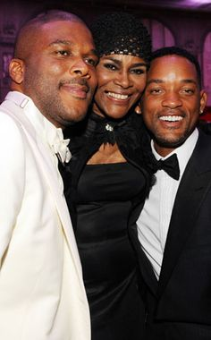 Tyler Perry, Cicely Tyson, Will Smith from The Big Picture: Today's Hot Photos Black Actresses, Black Actors, Black Celebrities, Actors & Actresses, Celebs, Vintage Black Glamour, Tyler Perry, Famous Black, Classic Movie Stars