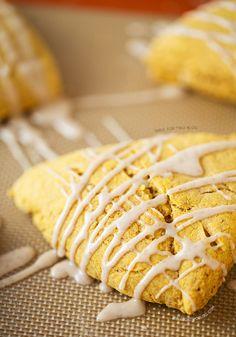 Starbucks Copycat Pumpkin Scones | tablefortwoblog.com