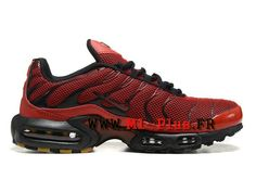 separation shoes 633c1 ed2a9 Nike Air Max Plus (Nike Tn 2015) Chaussures Nike Sportswear Pas Cher Pour  Homme Rouge Noir 604133-660