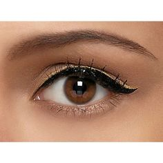 Simple makeup! nude eye with black eyeliner/gold accent liner. Dont forget to catch the reair of PDA tonight 8pm Ch14 msgvarsity.com/pda