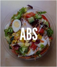 The ABS DIET – What Foods To Eat