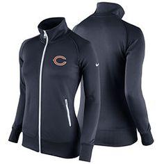 Get this Chicago Bears Ladies Stadium Classic Full-Zip Track Jacket at  ChicagoTeamStore.com 56e9f4b0f