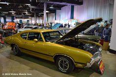 Muscle Car Spotlight: 1970 Oldsmobile Cutlass S 442 W31 #Olds #MuscleCars