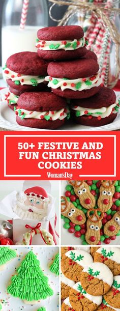 Save these Christmas cookie recipes for later by pinning this image and follow Woman's Day on Pinterest for more.