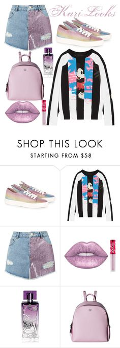 """""""Micky 🐭"""" by karilooks ❤ liked on Polyvore featuring Minna Parikka, Marc Jacobs, Miss Selfridge, Lime Crime, Lalique and MCM"""