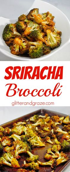 This sriracha broccoli gives this common side dish the right amount of zing. So instead of just throwing some butter on your broccoli give this sriracha broccoli a try. Healthy Sides For Chicken, Healthy Side Dishes, Healthy Dinner Recipes, Vegetarian Recipes, Keto Recipes, Sauce For Broccoli, Broccoli Recipes, Vegetable Recipes, Sriracha Recipes
