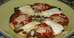 PIZZA CON HARINA DE GARBANZOS EN SARTÉN Gluten Free Recipes, Vegan Recipes, Vegan Food, Tortilla Pizza, Food N, Sin Gluten, Going Vegan, Vegetable Pizza, Sandwiches