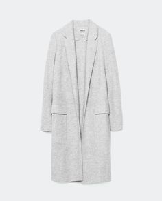 Image 8 of WOOL MIDI COAT from Zara