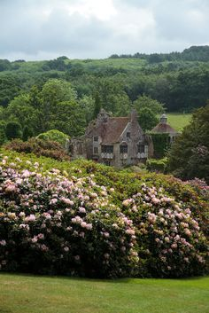 a country cottage — wanderthewood:  Scotney Castle, Kent, Englandby...