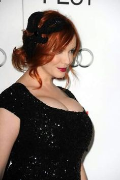 """Christina Hendricks Photos Photos: AFI FEST 2012 Presented By Audi - """"Ginger And Rosa"""" Special Screening - Red Carpet - Beauty Black Pins Beautiful Christina, Beautiful Redhead, Beautiful Girl Image, Beautiful Celebrities, Beautiful Actresses, Christina Hendricks Bikini, Cristina Hendrix, Indian Beauty, Taurus"""
