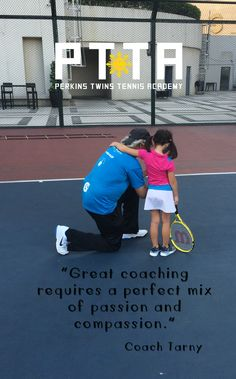 Passion plus compassion, Coach Tarny @ThePTTA #Philippine #Tennis #Coach #Lessons #Training #Academy #Coaches #Philippines #Ortigas