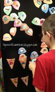 Speech Room News: Pronoun Ice Cream Cones