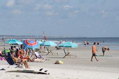 Jacksonville Beach, umbrellas Jacksonville Beach, September 2, Us Beaches, Umbrellas, Amazing Photography, Florida, Street View, American, The Florida