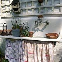 Potting Tables and Benches :: Susan @ Rustic ReDiscovered's clipboard on Hometalk :: Hometalk