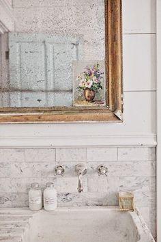 Shabby Chic Bathroom - Badezimmer on Pinterest  Shabby ...