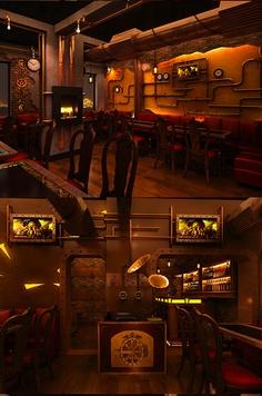 Steampunk decor on pinterest steampunk furniture for Steampunk house design