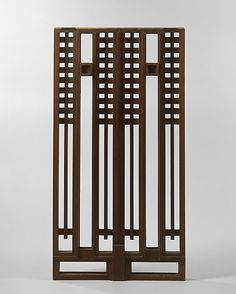 Grill from the Avery Coonley House, Riverside, Illinois / Frank Lloyd Wright / c. 1908
