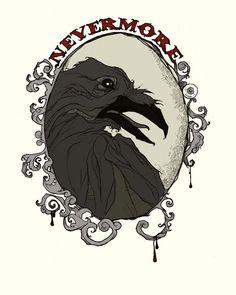Nevermore by AbigailLarson.deviantart.com on @DeviantArt