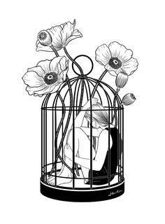 não faça disso tua prisão, liberte teus sentimentos, liberte a você e mostre-se ao mundo, deixe que todos eles saibam o quão maravilhosa você é 'por dentro'. apodera-te mulher! lute; a luta é como o sangue que corre em tuas veia. faça dela tua força e liberte-se!