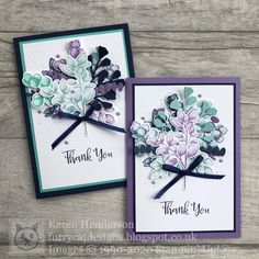 Send A Card, Thank You Note Cards, I Card, Quill And Ink, Feather Cards, Forever Green, Folded Cards, Creative Cards, Scrapbook Cards