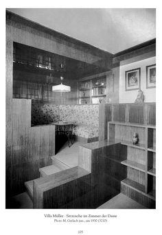 Villa Muller | Adolf Loos. Prague. 1930