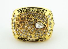 1997 Denver Broncos XXXII Word champions rings Size 11 #DenverBroncos