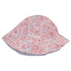 Ditsy Print Reversible Hat