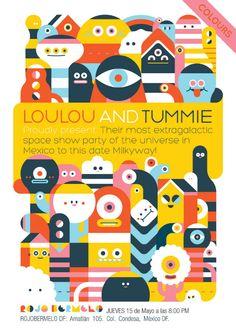 LouLou and Tummie en Rojo Bermelo