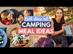 Delicious and EASY Food for Camping (What I Eat in a Day Camping) - YouTube Camping Desserts, Camping Meals, Campfire Banana Boats, Foil Packet Meals, Kodiak Cakes, Camping Breakfast, Easy Meals, Eat, Glamping