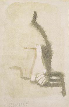 Giorgio Morandi Still Life Watercolor
