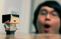 Foldable Me – a portable paper version of yourself