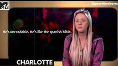 Geordie shore. Geordie shore quote. Charlotte...Aren't all boys?