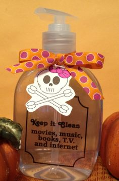 "Little Miss Suzy Q-YW Manual 1 Lesson 33 ""Avoiding Degrading Media Influences"" Keep It Clean!!!  Soap or hand sanitizer."