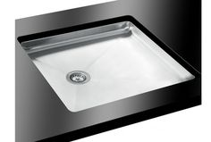 The Bluci Acute is an inset drainer with style. Radius corners and a Modern brushed steel finish and a Lifetime Warranty gives total piece of mind. Glass Kitchen, Kitchen Sink, Taps, Sinks, Stainless Steel, Modern, House, Ideas, Design