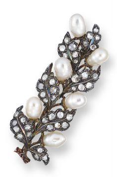 BUCCELLATI: precioso broche de perlas | Alta Joyería