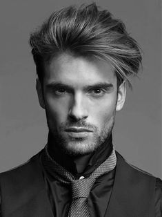 Cool Hairstyles For Men With Straight Hair Medium Length