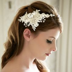 Hip bridal hairstyle alternatives to replace the veil! - MyWedStyle.com