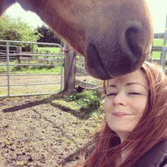 Kristal Larkham - Getting snuffled by Sasha makes me happy :-)