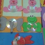 this page has a lot of cd crafts for kids and teacher