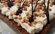 Snickerskake – Fru Haaland Pie, Baking, Desserts, Recipes, Food, Drinks, Torte, Tailgate Desserts, Drinking