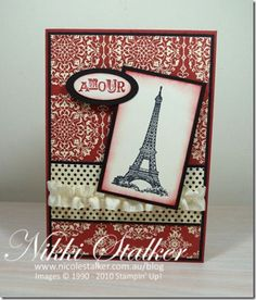 #artistic etchings #stampin up
