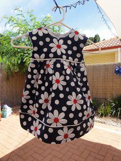 1st Birthday Geranium Dress by anikissed, via Flickr
