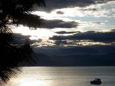 South Lake Tahoe Sunset by smalls-, via Flickr