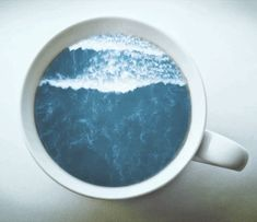 The perfect Coffee Waves Ocean Animated GIF for your conversation. Discover and Share the best GIFs on Tenor. Anim Gif, Gif Animé, Animated Gif, Gif Art, Giphy Gif, Neptune Astrology, Coffee Gif, Coffee Talk, Foto Gif
