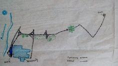 Week1 (traced map) Hello! I Huda from Benghazi, Libya. Benghazi lies on the southern coast of the Mediterranean Sea.