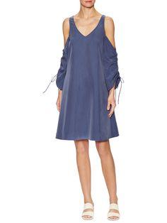 Marabelle Cold Shoulder Shift Dress