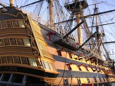 HMS Victory - I love every bit of it!