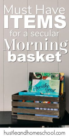Must have items for a Secular Homeschool Morning Basket time. Homeschool Circle Time. Productive morning time for homeschoolers. Homeschooling First Grade, Secular Homeschool Curriculum, Homeschool Apps, How To Start Homeschooling, Homeschool Kindergarten, First Grade Math, Homeschooling Resources, Teaching Character, Circle Time